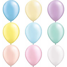 """Qualatex 11"""" Pastel Pearl Colours Latex Round Balloons 100 Pack"""