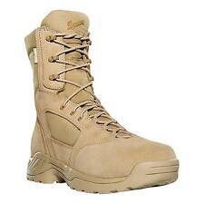 """NEW Danner Army Kinetic Desert Rough-Out Boots, 8"""", Tan Leather/Nylon"""
