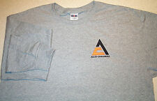 Mens Allis Chalmers Triangle Long Sleeve T-shirt (4 colors)