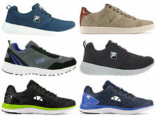 New Mens  Ellesse Fila  Retro Logo Trainers  Run Shoes Casual Sneakers