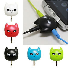 3.5mm Cartoon Audio Splitter Earphone Headset Cable Male to 3 Female Adapter
