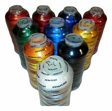 7 XL Cones of Rayon Embroidery Thread / 5500YDS / Machine Embroidery Thread