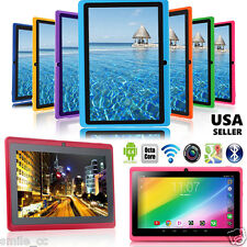 """7"""" Google Android 4.4 Quad Core Tablet PC 8GB Dual Camera Wifi Bluetooth NEW Lot"""