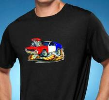 1968 1969 1970 AMC AMX Muscle Car Art Cartoon Tshirt NEW FREE SHIPPING