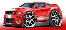 2006-09 Shelby GT500 Mustang Muscle Car Art Print NEW