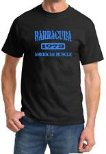1973 Plymouth Barracuda American Muscle Car Color Design Tshirt NEW Free Ship