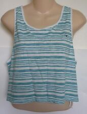 Womens AEROPOSTALE Striped Boxy Cropped Tank Top NWT #9663