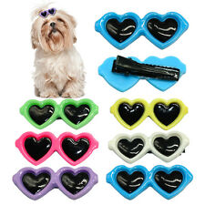 7pcs Sunglasses Pet Dog Cat Puppy Bow Hair Clip Hairpin Grooming Accessories