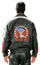 Eagle with American Stars & Stripes Bomber Jacket