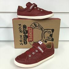Camper Pelotas Persil boys Casual shoe in Deep Red