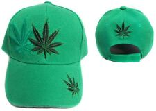 Marijuana Weed Baseball Caps Hats  Embroidered1Pc Wholesale 6Pc Lot  (E75050W8)