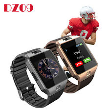 DZ09 Bluetooth Smart Watch phone GSM SIM Card For Iphone Android Samsung LG Sony