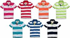 HOLLISTER BY ABERCROMBIE MENS POLO SHIRT LA JOLLA COVE T-SHIRT STRIPED NWT HCO