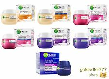 GARNIER ®Skin Naturals Anti-Ageing Essentials Day Care Night Care ManyVariations