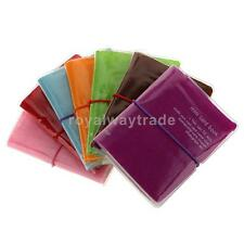 32 Cards Pocket Credit ID Business Card Book Holder Case Wallet Purse