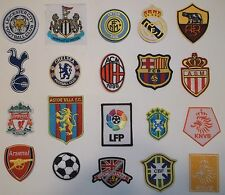 International Club Team Soccer Futbol Patch Patches~Embroidered~Woven~Iron Sew