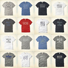 BNWT Hollister by Abercrombie Mens T-Shirt Tee Top - All Colours S, M, L