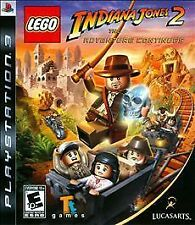 Lego Indiana Jones 2: The Adventure Continues - Playstation 3 LucasArts PS3 New