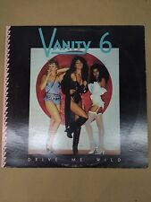 "Vanity 6 Drive Me Wild/Bite the Beat 12"" LP 1982 WB 0-29748 promo Prince Time"
