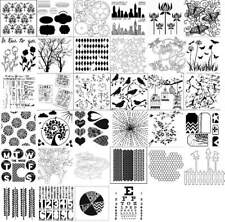 The Crafters Workshop Stencil / Mask / Template MULTIPLE DESIGNS AVAILABLE!