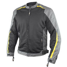 Xelement Hornet Men's Tri-tex/Mesh Armored Motorcycle Jacket