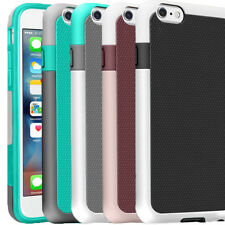 """Protective Hybrid Rugged Rubber Shockproof Hard Case Cover for iPhone 6 6S 4.7"""""""