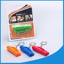 Mini Keychain Safety Breaker Hammer Car Emergency Rescue Glass Escape Hand Tool