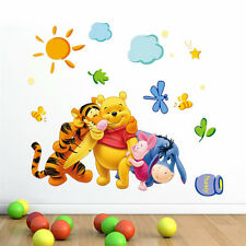 Cartoon Winnie the pooh Wall Sticker For Kids Baby Room Nursery Decor