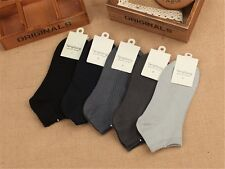 5/10 Pairs Mens sock lot Bamboo Fiber warm Casual Business classic Dress Socks