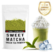 Sweet  Matcha Green Tea Powder - Perfect mix to make Frappe Latte