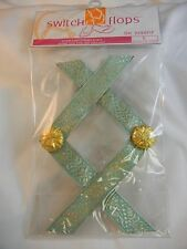 Lindsay Phillips Switchflops Straps Jennifer - Small - Medium - Large NIP