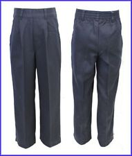 Boys Black School Trousers Brand New Ex Chain-store with Zip
