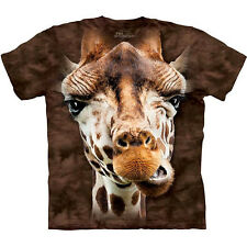 GIRAFFE FACE T-Shirt The Mountain Funny Big Head Zoo Animal S-3XL NEW
