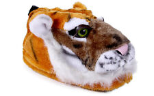 Happy Feet - Orange Tiger - Animal Slippers