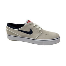 NIKE JANOSKI SUMMIT WHITE OBSIDIAN RED MENS CASUAL SKATEBOARD SHOES SNEAKERS