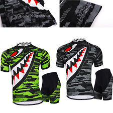 Pro Team Men Riding Short Sleeve Jersey Shorts Kits Cycling Bike Shirt Pants Set