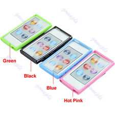 Ultra Thin TPU Case Cover With Belt Clip For Apple ipod Nano 7 7G 7th Gen GRT