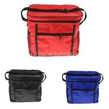 Insulated Cooler Cool & Thermo Lunch Bag with Shoulder Strap for Picnic Barbecue