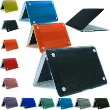 For Apple MacBook Air 11.6''13.3'' Hard Rubberrized Shell Crystal Cover Case