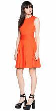 BNWT CUE Cotton Pleated Dress Sz 6 10 14 RRP$279