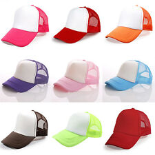 High Quality Fashion Men/Women Trucker Cap Baseball Golf Mesh Adjustable Hats