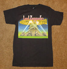 Led Zepplin Graphic Mens Shirt NEW  Rock  Music In Lights Jimmy Page Roger Plant
