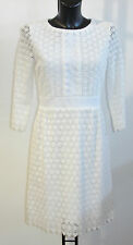 DVF NOLLY A-LINE LACE BLACK OR WHITE DRESS BNWT