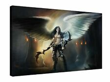Angel Wings Armour - Gallery Grade Canvas Wall Art + Various sizes