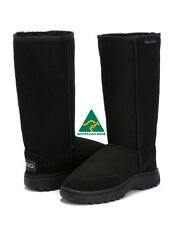 Hiking Tall Outdoor Sole Ugg Boots Australian Made Size 5 / 6 - STOCK CLEARANCE