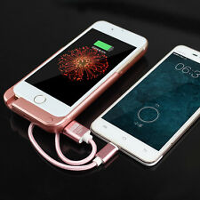 10000mAh Rechargeable External Battery Power Bank Case Cover F iPhone 6 6S Plus
