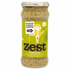 Zest - Basil Pesto Vegetarian | 340g - Bulk Buy & Multipacks