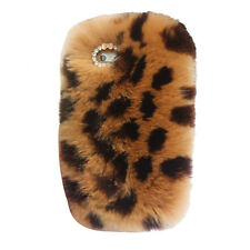 Cute Bling Warm Soft Rabbit Fur Hair Case Cover For Apple iPhone WS