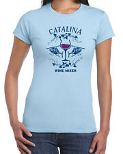 186 Catalina Wine Mixer womens T-shirt funny helicopter party step new brothers