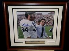 Franco Harris Penn State Football Autographed Signed 11x14 Photo JSA PSA